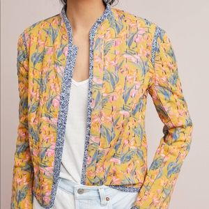 Anthropologie Waverly Quilted Jacket